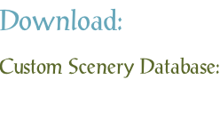 Download: Custom Scenery Database: