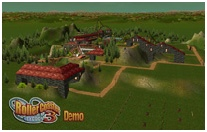 New Additions Home Page Thumbnail Image: RCT3 Demo ParkSave Scenario